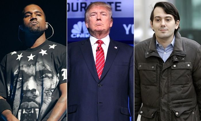 Which most controversial man of the moment are you? Martin Shkreli, Donald Trump or Kanye West? Take this quiz and find out today!