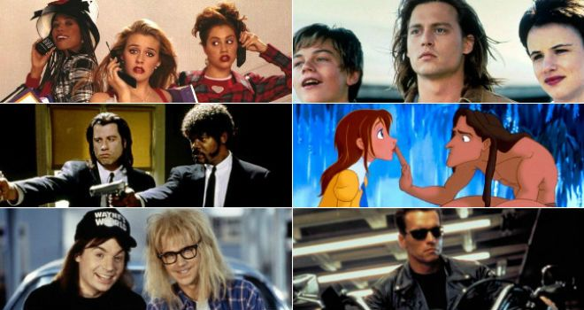 Can You name these iconic 90s movies just from a single scene? Take this quiz and find out today!