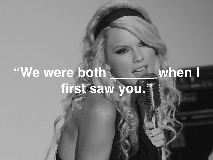 How well do you know Taylor Swift lyrics? Take this quiz and find out today!
